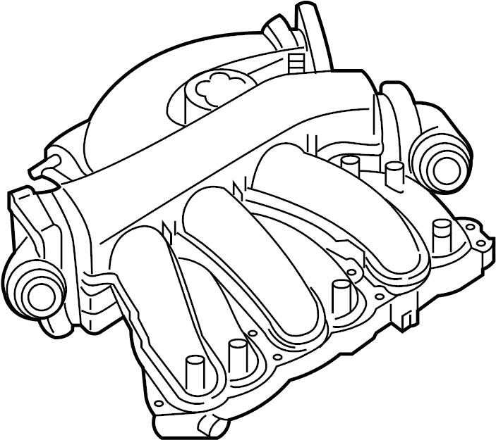 Nissan Pathfinder Engine Intake Manifold. COVER, EXHAUST ...