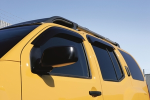 Side Window Deflectors, Front And Rear Set (4-Piece) image for your Nissan
