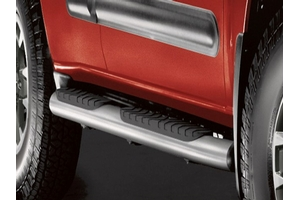 Step Rails, Silver (2-Piece) image for your Nissan