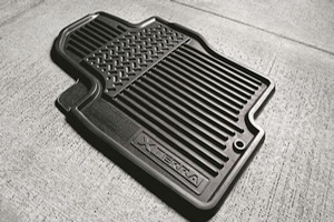 All-Season Floor Mats, All-Season (Rubber / 3-Piece / Black) image for your Nissan