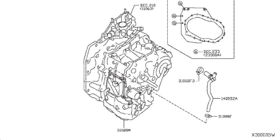 Nissan Versa Note Bracket Automatic Transmission Control  Bracket Cvt Controller