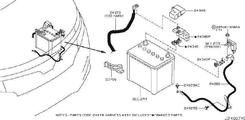 Nissan Quest Engine Wiring Harness  Other