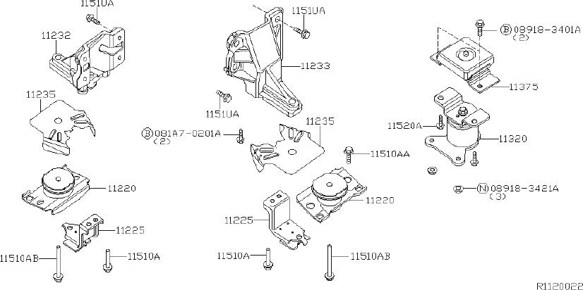Nissan Pathfinder Bolt