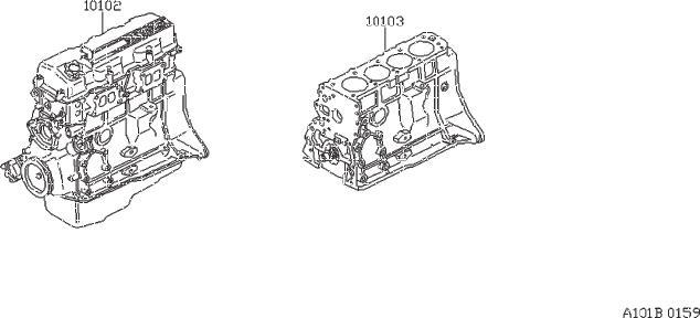 Nissan 200sx Engine Bare  Short